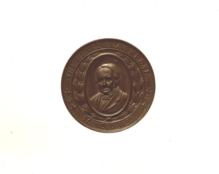 The original Henry Shaw Medal, created in 1893.