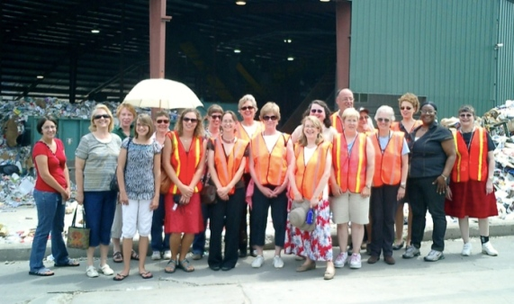 Touring Recycling Plant - Websize