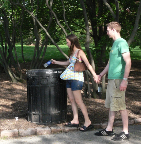MBG Visitors Recycling