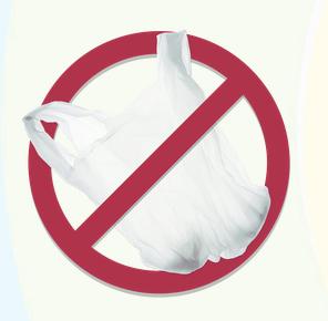 No Plastic Bags graphic